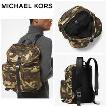 【MICHAEL KORS】☆新作☆ Kent Camouflage Nylon Backpack