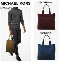 【MICHAEL KORS】☆18-19AW新作☆ Henry Large Suede Tote