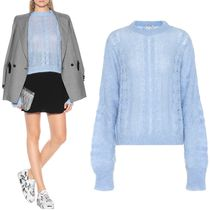 MM643 MOHAIR BLEND OVERSIZED SWEATER