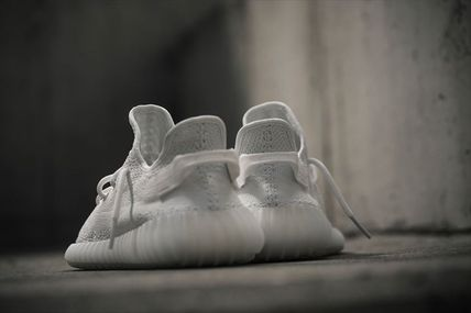 adidas スニーカー Adidas ×Kanye West Yeezy Boost 350 V2 「TRIPLE WHITE」(6)