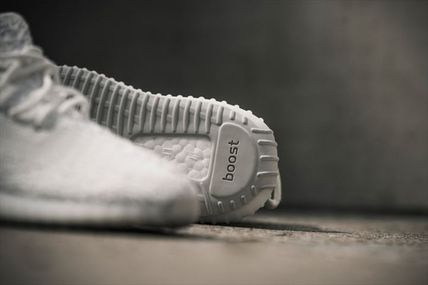 adidas スニーカー Adidas ×Kanye West Yeezy Boost 350 V2 「TRIPLE WHITE」(9)