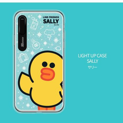 LINE FRIENDS スマホケース・テックアクセサリー iPhone XS/X/XR/XS Max ケース LINE FRIENDS LIGHT UP CASE(14)