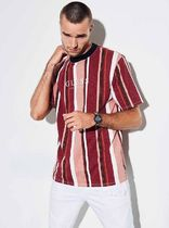 GUESS ORIGINALS ゲス OVERSIZED SAYER STRIPED TEE