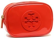 【Tory Burch】STACKED PATENT COSMETIC CASE 化粧ポーチ