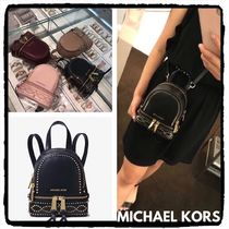 ★SALE★MICHAEL KORS Rhea Mini Studded Leather バックパック