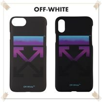 Off-White オフホワイト GRADIENT ARROWS IPHONE 8 / X CASE 黒