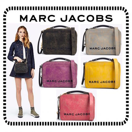 【SALE】Marc Jacobs/ レザー ボックスバッグ