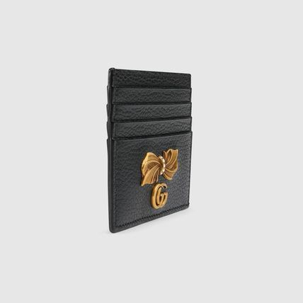 GUCCI スマホケース・テックアクセサリー 新作!GUCCI(グッチ) Leather card case with bow(5)