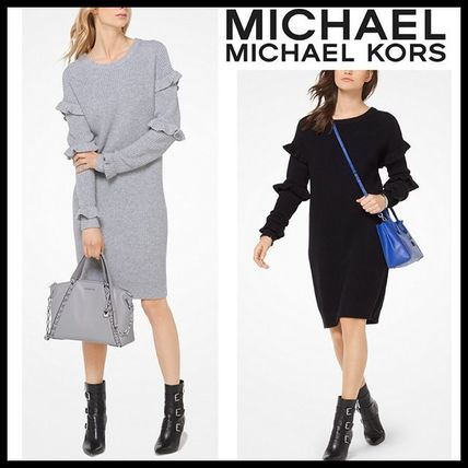 SALE★Michael Kors ★リブニットワンピース Sweater Dress