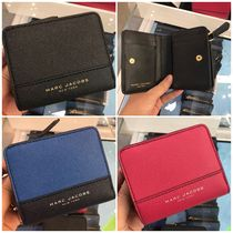【Marc Jacobs】M0014235 Leather Compact wallet☆二つ折り