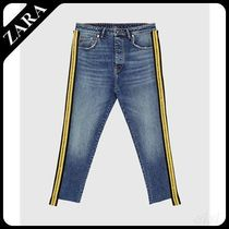 ☆ Men's ZARA☆ JEANS WITH SIDE TAPING