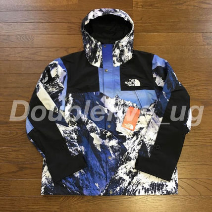 Supreme The North Face Mountain Light Jacket 17aw 雪山
