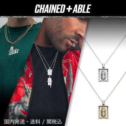Chained & Able ネックレス・チョーカー 大人気!Chained&Able★GUADALUPEミニタグネックレス★クーポン付
