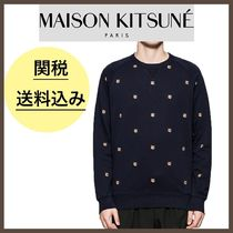 MAISON KITSUNE★Fox Head Patch スウェット トレーナー