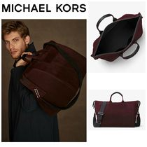 【MICHAEL KORS】☆18-19AW新作☆ Henry Suede Duffel