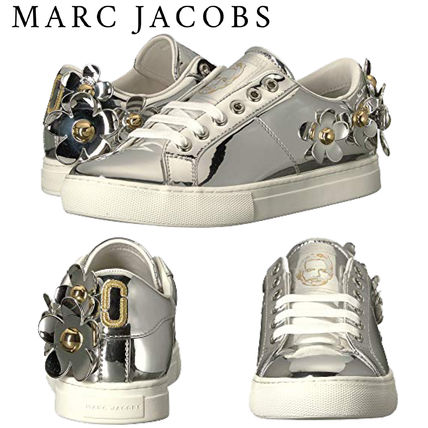 【MARC JACOBS】Daisyメタリックレースアップスニーカー