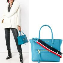 MM664 MADRAS LEATHER TOTE BAG