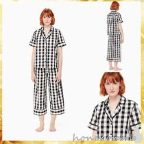 【送料込 kate spade new york】Cotton blend crop pj set