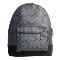 Coach  シグネイチャーWEST BACKPACK F36137