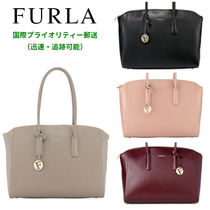 FURLA(フルラ) マザーズバッグ 【SALE】FURLA Tessa Large Leather Satchel