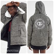 Urban Outfitters★Obey レオパード柄 パファージャケット