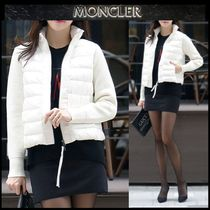 【MONCLER】18AW ウールMIX ジップアップブルゾン IVORY/EMS直送