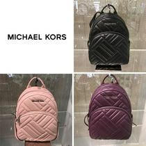【Michael Kors】新作☆キルトレザー ABBEY MD BACKPACK ☆
