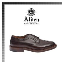 18AW新作★ALDEN  Derby Leather