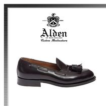 18AW新作★ALDEN Loafer Leather Cordovan