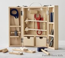 Pottery Barn Kids★Boys Wooden Toy★本格的工具箱セット
