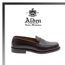 18AW新作★ALDEN  Loafer Leather
