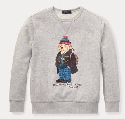 Ralph Lauren大人OK University Bear Sweatshirt ポロベアー