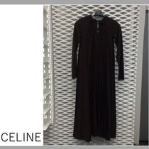 【CELINE】DRESS/DARK BROWN