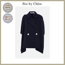 2018-19AW See by Chloe double-breasted cape