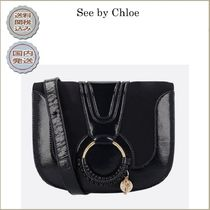2018-19AW See by Chloe Hana shoulder bag in patent leather