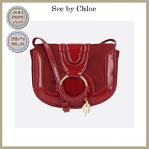 2018-19AW See by Chloe mini Hana bag in patent leathe