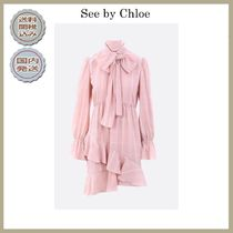 2018-19AW See by Chloe short dress with frills