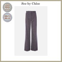 2018-19AW See by Chloe wide-leg pants