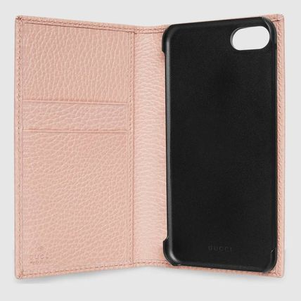 GUCCI スマホケース・テックアクセサリー 追跡有り配送!GUCCI(グッチ) GG Marmont iPhone7/8 wallet case(3)