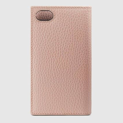 GUCCI スマホケース・テックアクセサリー 追跡有り配送!GUCCI(グッチ) GG Marmont iPhone7/8 wallet case(4)