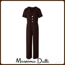 MassimoDutti♪JUMPSUIT WITH BUTTONS