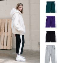 ACOVER(オコボ) パンツ 【ACOVER】8丈 LINE BANDING PANTS (4color) - UNISEX