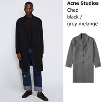 [Acne]Chad oversized cashmere coat ウールカシミア混コート2色
