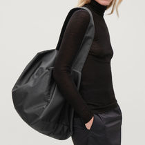 COS☆COLLAPSED TOTE BAG / black