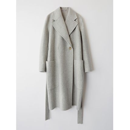 [Acne Studios] Carice Double Belted coat ベルトコート グレー