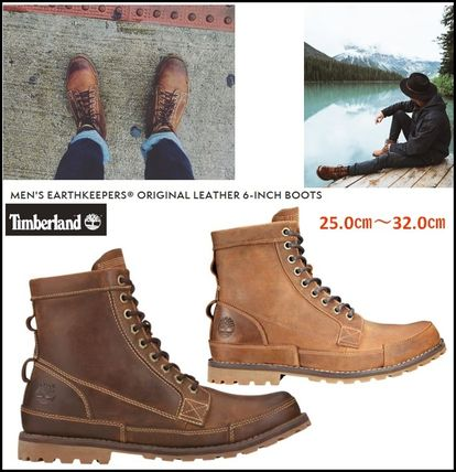 Timberland ブーツ Timberland☆Men s Earthkeepers Original Leather 6-Inch ... 661fe3075