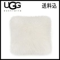 新作【UGG】もこもこ★ Mongolian Fur Floor Throw Pillow