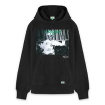 GUESS GREEN LABELxRICKY POWELL コラボフーディ RICKY POWELL