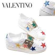 VALENTINO正規品/EMS発送/送料込み Spangle Star Open Sneakers