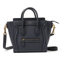 Celine Nano Luggage bag Navy Blue ラゲージ ナノ ネイビー
